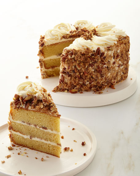 Annie Pie's Bakery Southern Bourbon Butterscotch Crunch Cake
