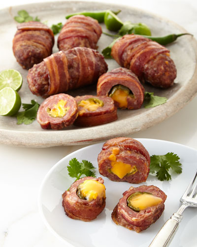 Stuffed Sausage Slammers  For 12 People