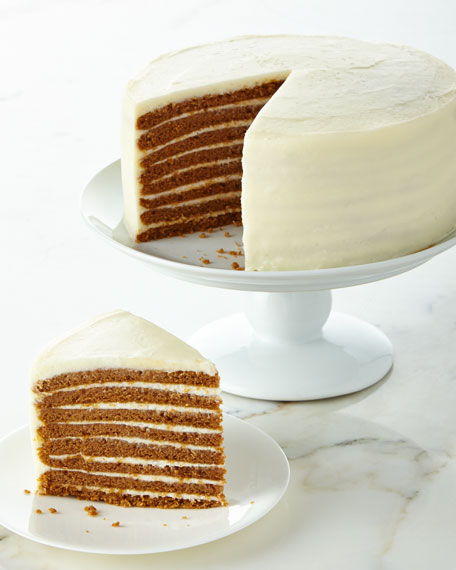 Pumpkin Spice Cake, For 14-16 People