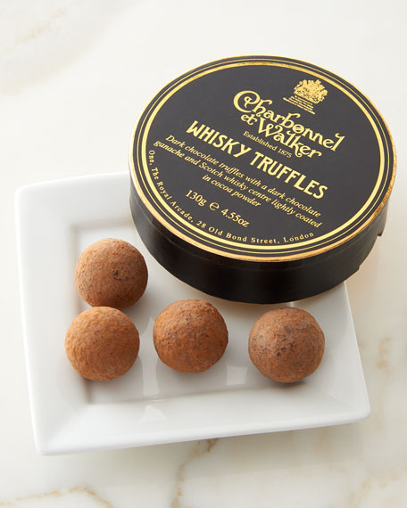 Charbonnel Et Walker WHISKY TRUFFLES 4.55 OZ