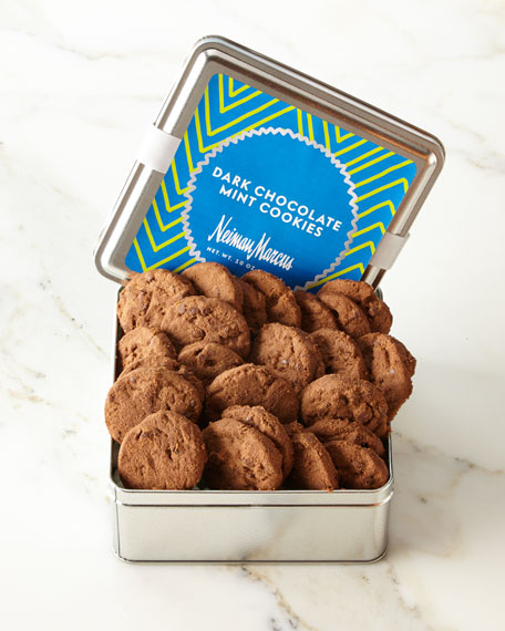 Dark-Chocolate Mint Cookies