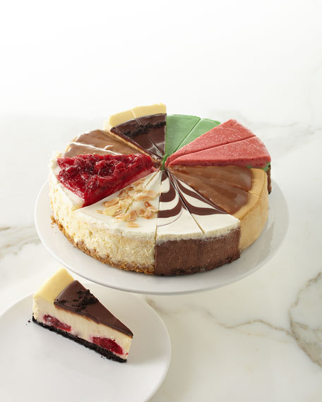 Cheesecake Royale 16-Slice Cheesecake Sampler