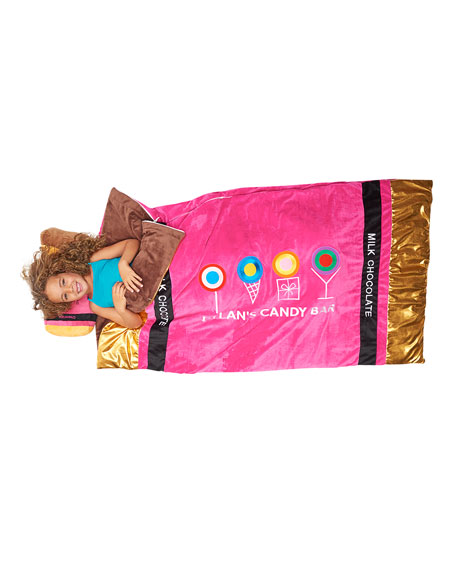 """Chocolate Bar"" Sleeping Bag"