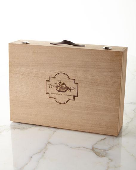 Gourmet Salt & Pepper Kit in Wooden Gift Box