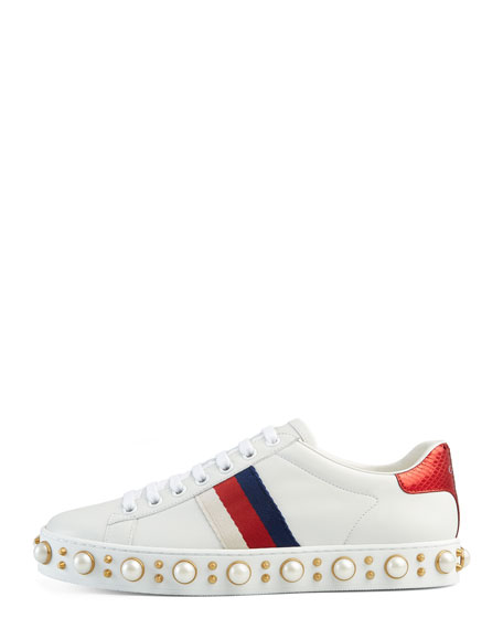 New Ace Sneakers, White