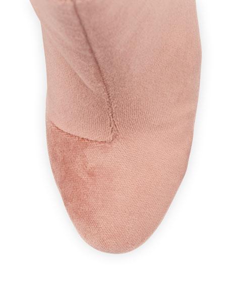 Hachiro Velvet Ankle Boot