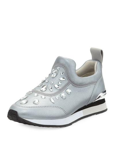 50a355741bd7 Tory Burch Laney Embellished Slip-On Sneaker