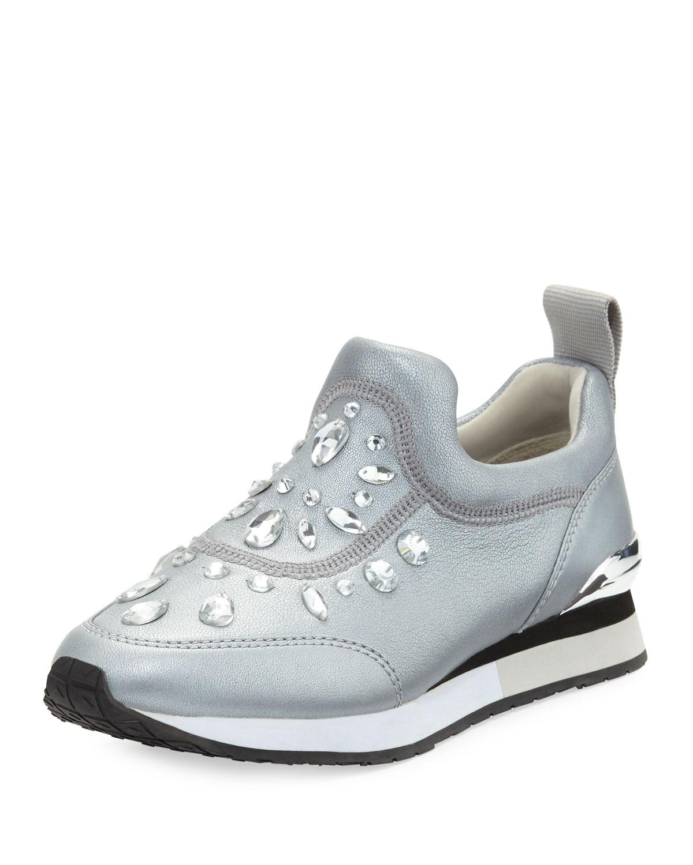 dbc9b79bb9f6 Tory Burch Laney Embellished Slip-On Sneaker