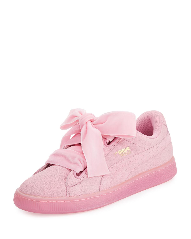 Puma Suede Heart Reset Marcus Sneaker, Pink   Neiman Marcus Reset db316b