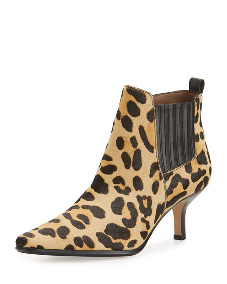 Donald J Pliner Latour Calf-Hair Pointed-Toe Bootie,