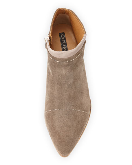 Serafina Suede Ankle Boot