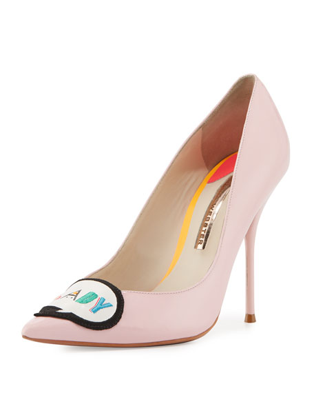 Boss Lady Patent Leather Pumps