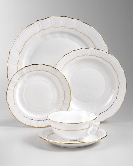 GOLDEN EDGE DINNER PLATE