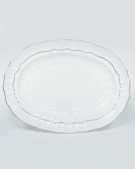 Golden Edge Platter, Large