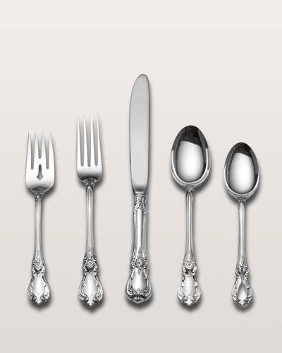 Neimanmarcus Towle Silversmiths 66-Piece Old Master Sterling