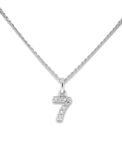 KC Designs Diamond Number Necklaces