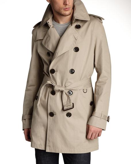 Classic Trench Coat, Black