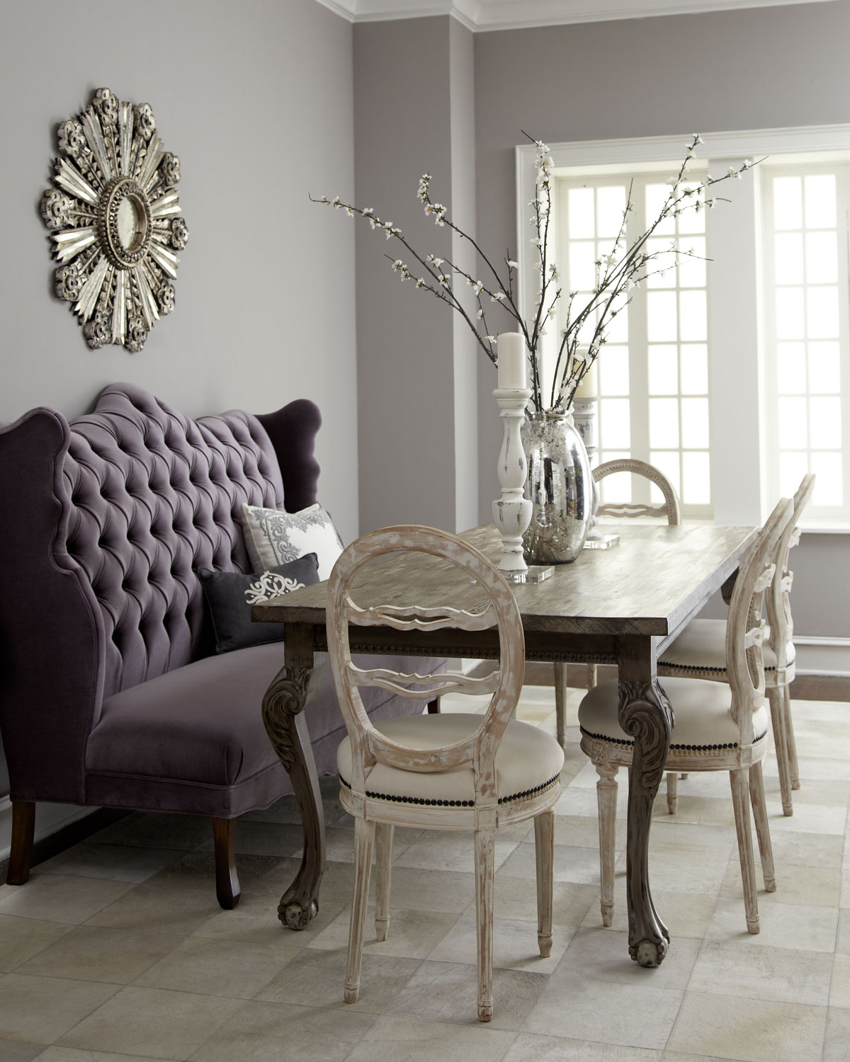 Haute House Isabella Wing Banquette