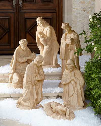 Outdoor Nativity
