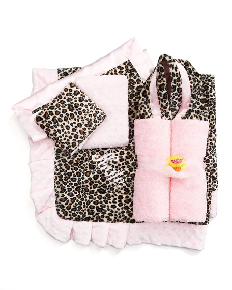 Cheetah-Print Security Blanket, Plain