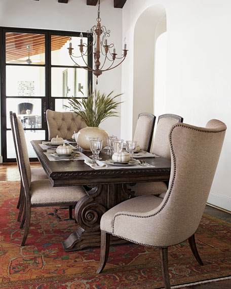 Hooker Furniture Donabella Dining Furniture with Upholstered Seating