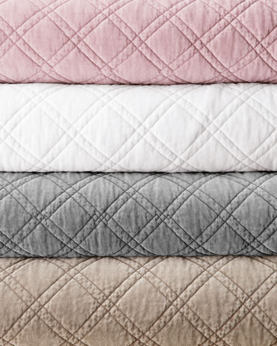 Brussels Quilted Velvet Bedding