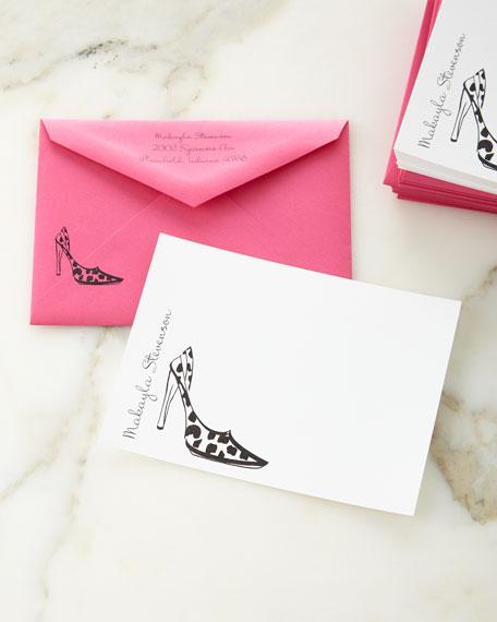 Neimanmarcus 25 Stiletto Correspondence Cards with Envelopes