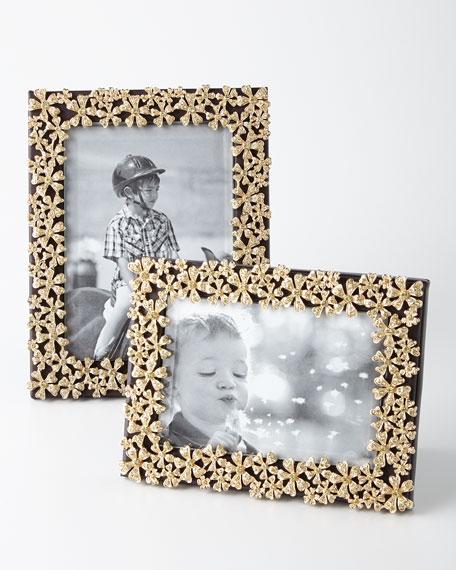 "L'Objet Gold Garland 5"" x 7"" Picture Frame"