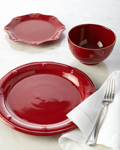 Berry & Thread Ruby Dinnerware