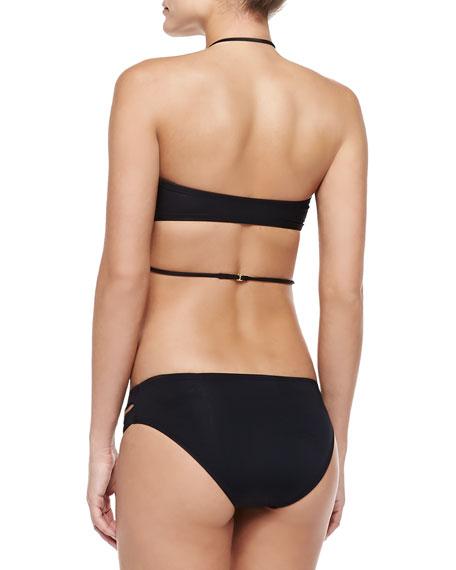 Kaella Bandeau Swim Top w/ Necklace