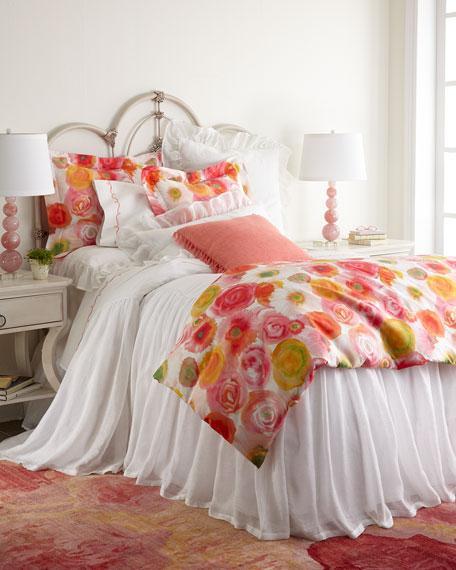 Pine Cone Hill Queen Clarissa Floral Duvet Cover,