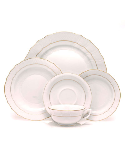 Golden Edge Dinnerware