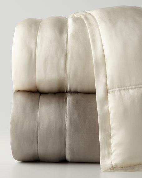 Reflection Standard Quilted Silk Sham