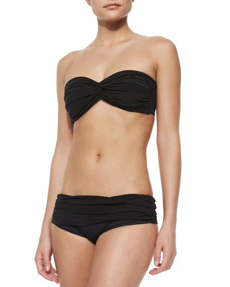 Johnny D Bandeau Swim Top