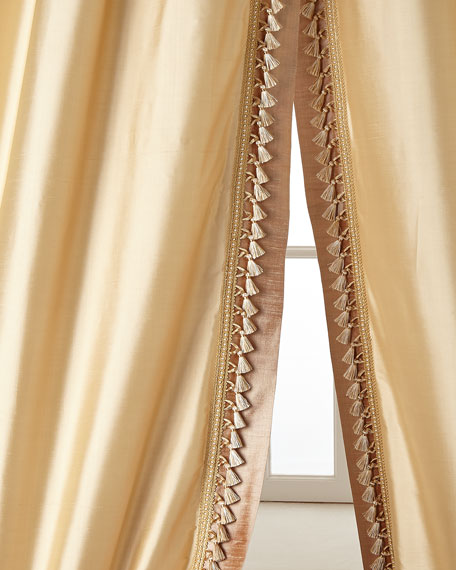 """Two 52""""W x 96""""L Villa Di Como Curtains"""