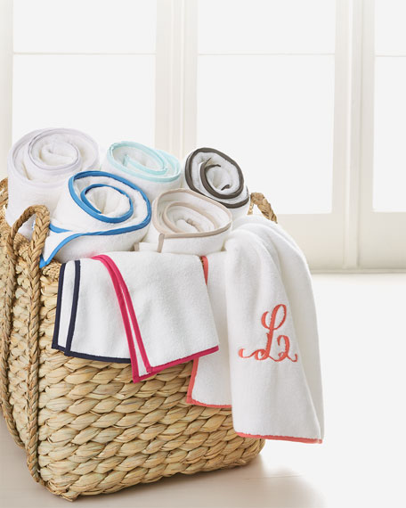 Signature Banded Bath Towel