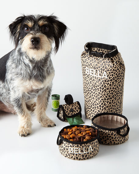 Harry Barker Leopard Bark N Go Small Accessories