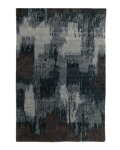"Forest Brushstroke Runner, 2'6"" x 10'"