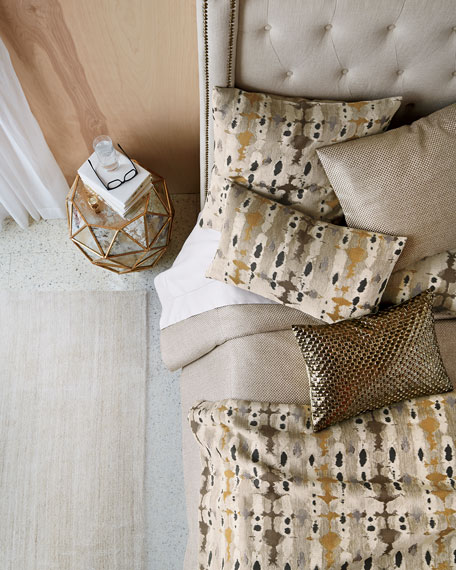 Fino Lino Linen & Lace King Soho Coverlet