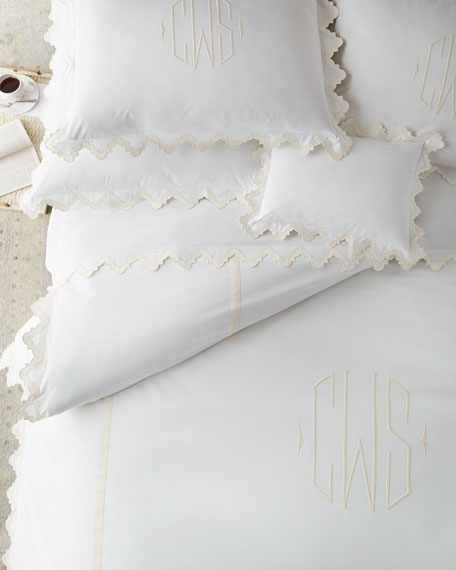 Two King 520TC Elora Pillowcases