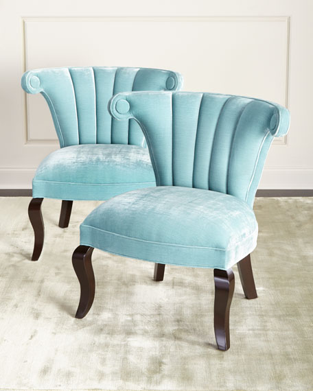 Haute HouseKylie Channel-Tufted Chair