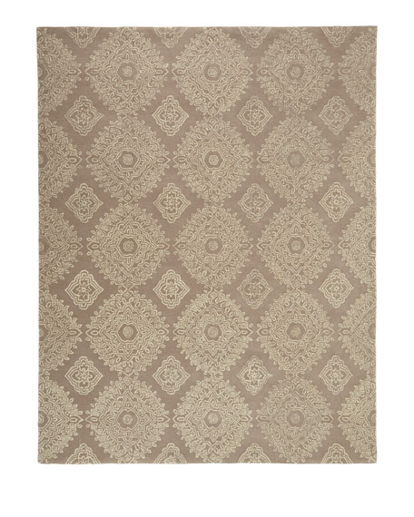 Dash & Albert Rug Company Lace Refuge Runner,
