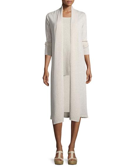 Washable Wool Kimono Duster Cardigan, Petite