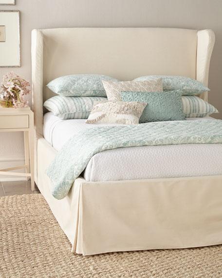 Castillo King Slipcover Bed