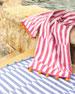 John Robshaw Nicatta Pink Beach Towel