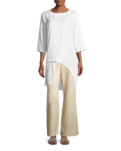 Linen Drama Top & Pants