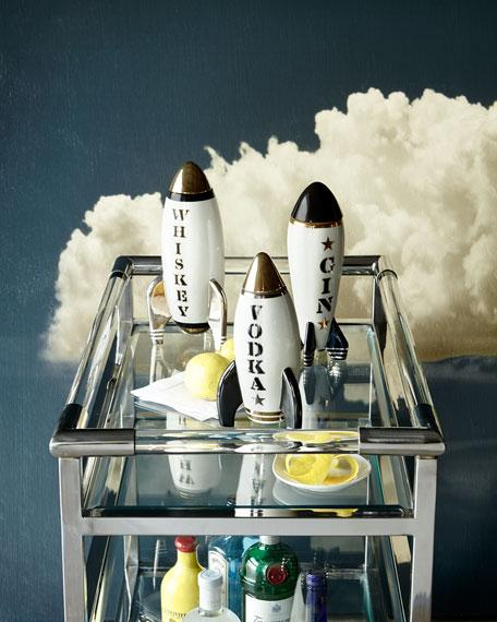 Jonathan Adler Gin Rocket Decanter