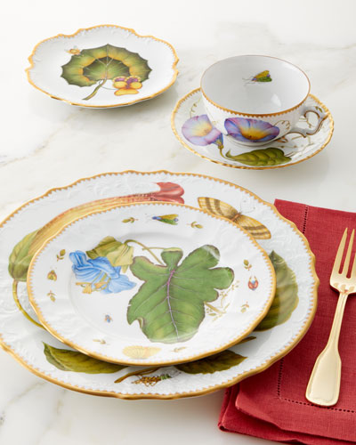 Treasure Garden Salad Plate and Matching Items