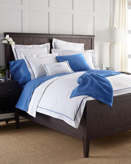 Two King 464TC Percale Pillowcases