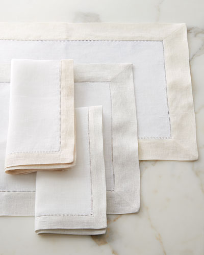 Filetto Table Linens